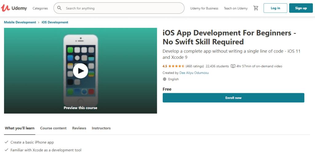 Udemy - iOS App Development For Beginners