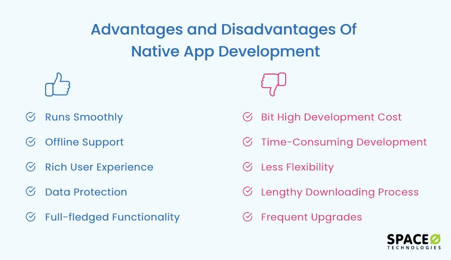 Advantages and Disadvantages of Native App Development