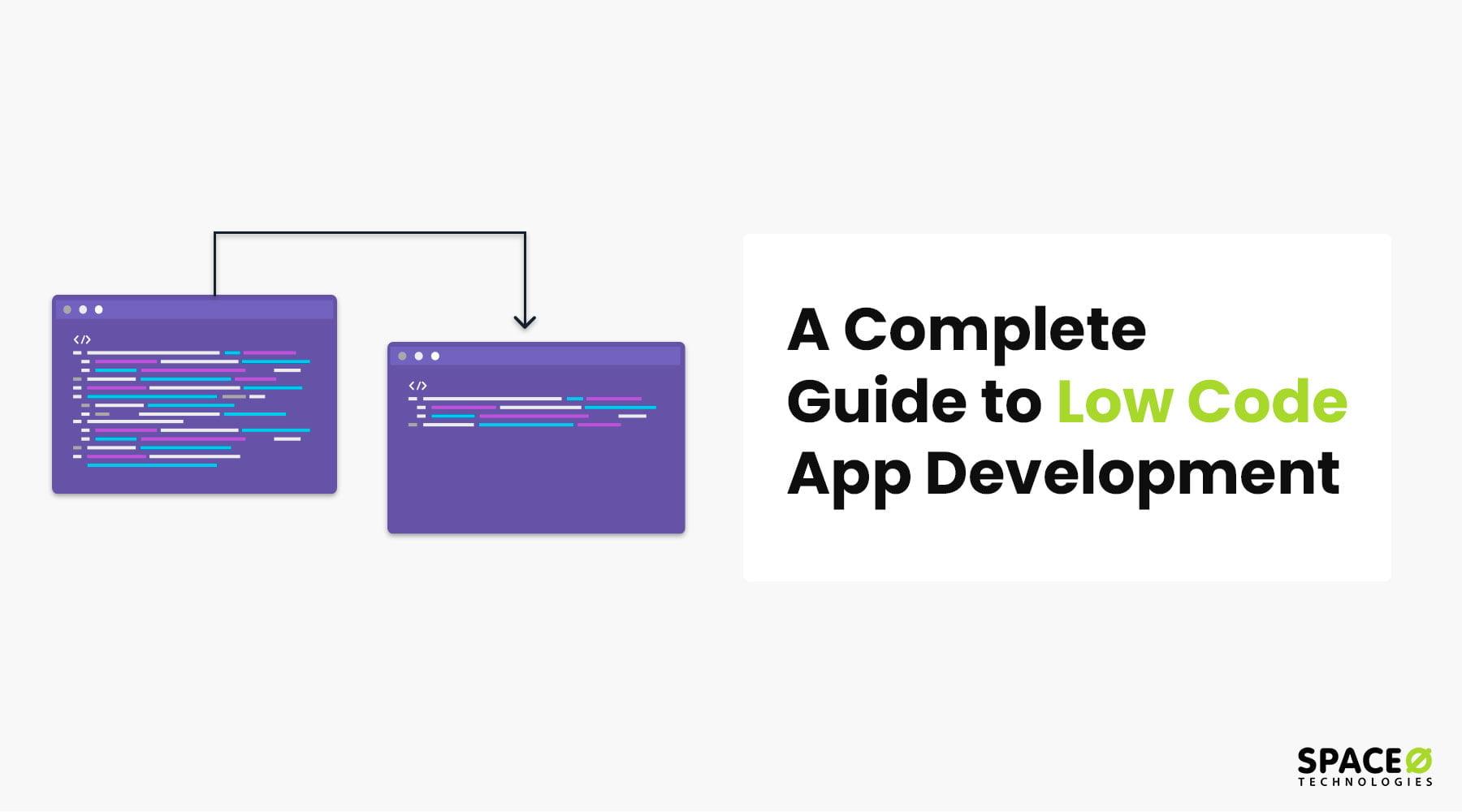 low code app development