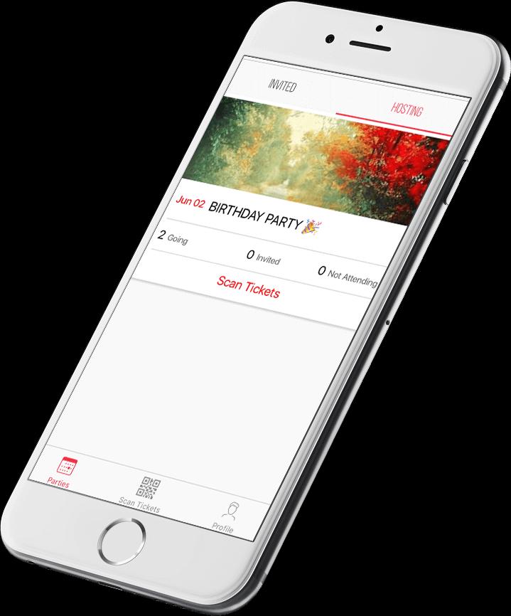 Loop app screen