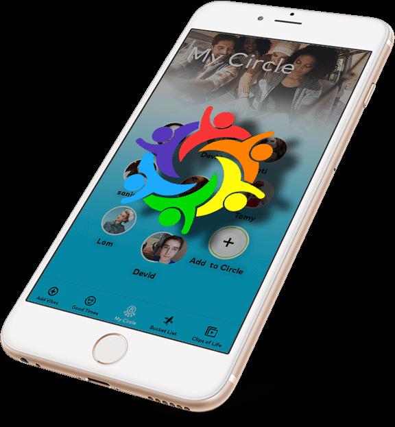 My Circle app screen