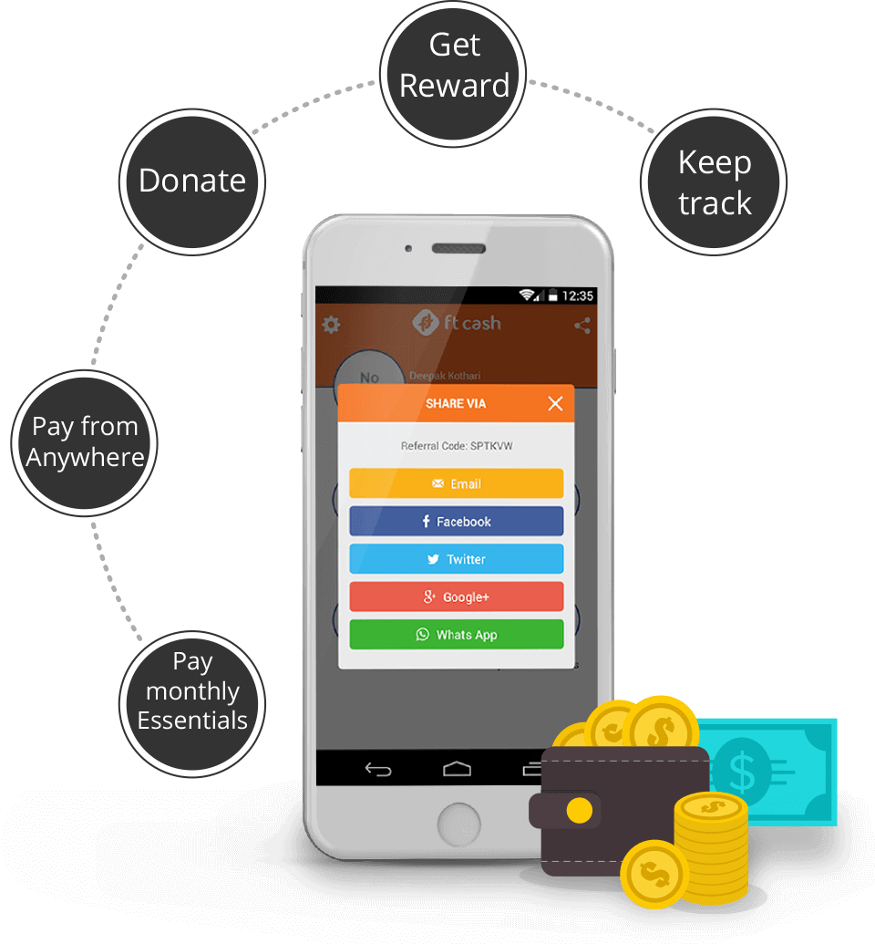 Features of FTCash app