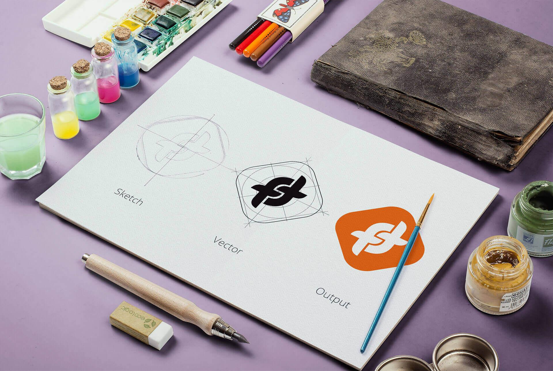 FTCash app icon design