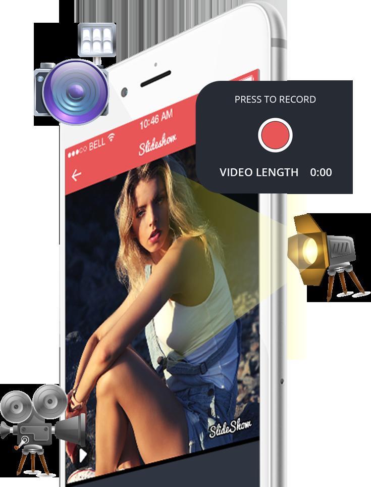 Story behind Slideshow maker app