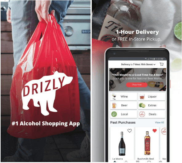 Drizly (Alcohol Delivery App)