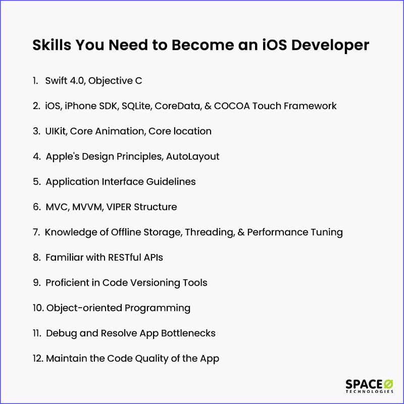 Skills You Need to Become an iOS Developer