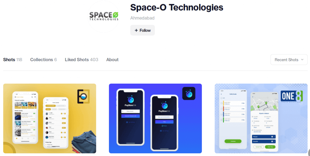 Space-O Technologies on Dribble