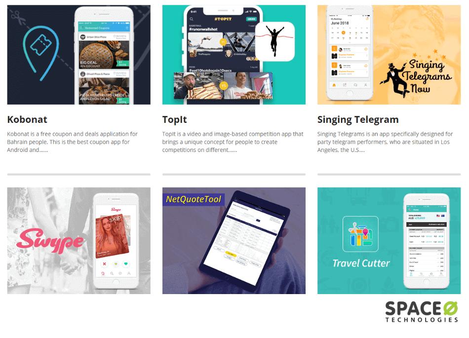 Check Portfolio of Mobile App Developer
