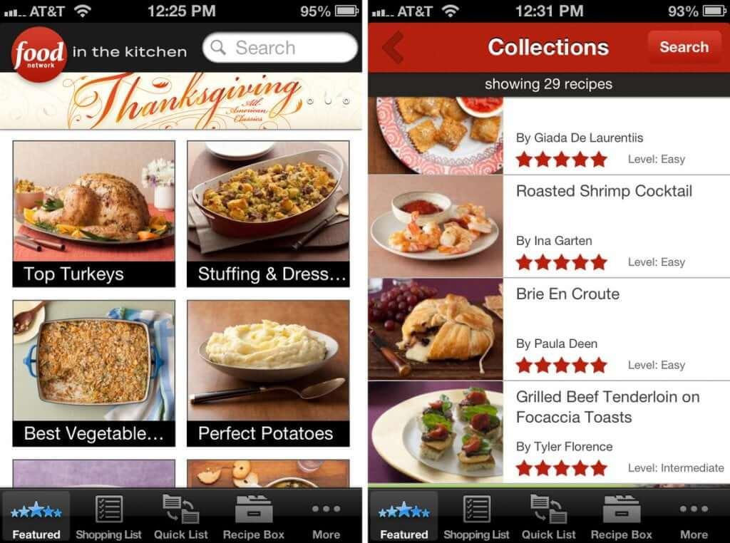 recipe book app