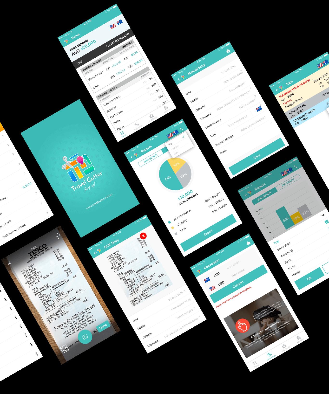 Travel Clutter App Final Design