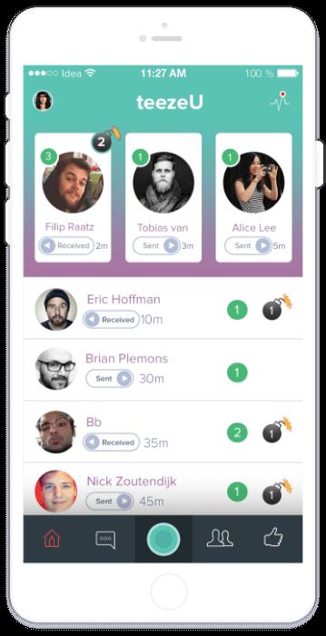 Teezr App