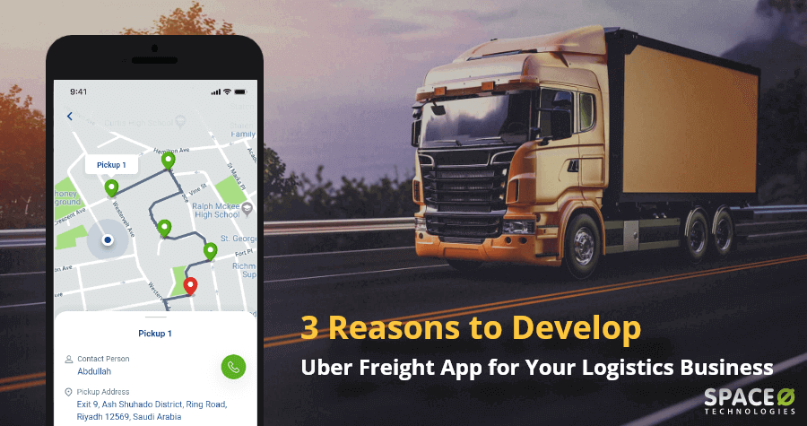 develop Uber freight app