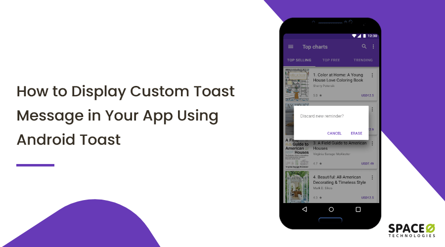 Custom Toast Message in Android