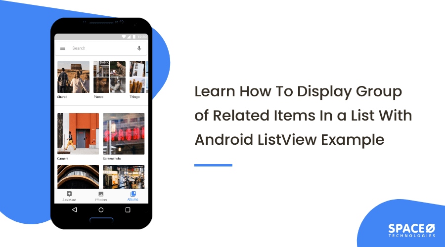 android listview example