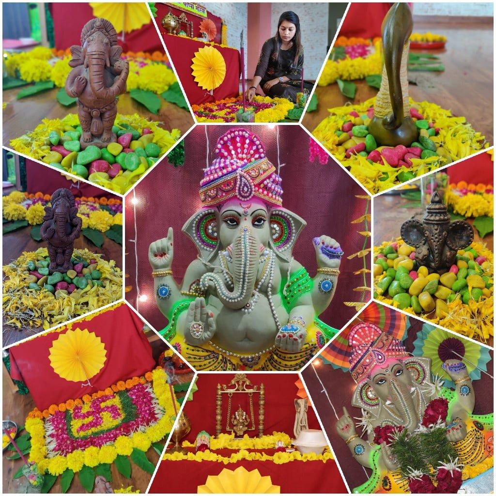 Ganesh ji collage