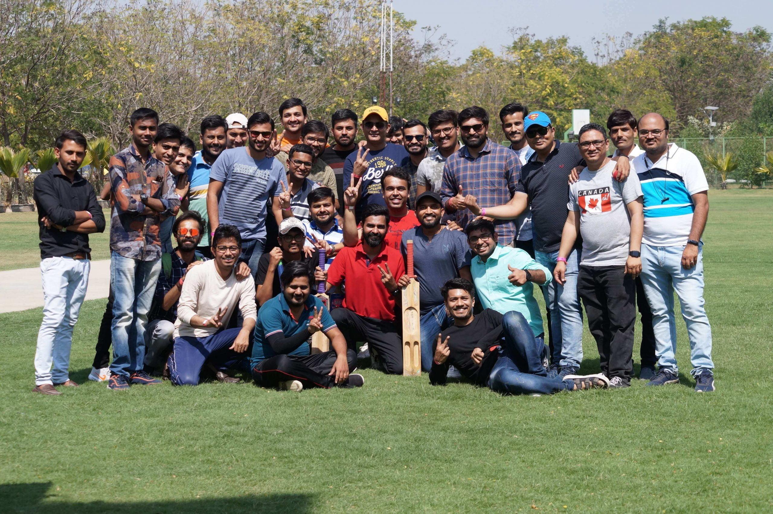 Space-O Cricket Team