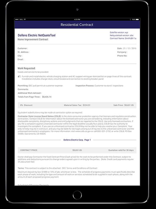 Generate Invoice in PDF