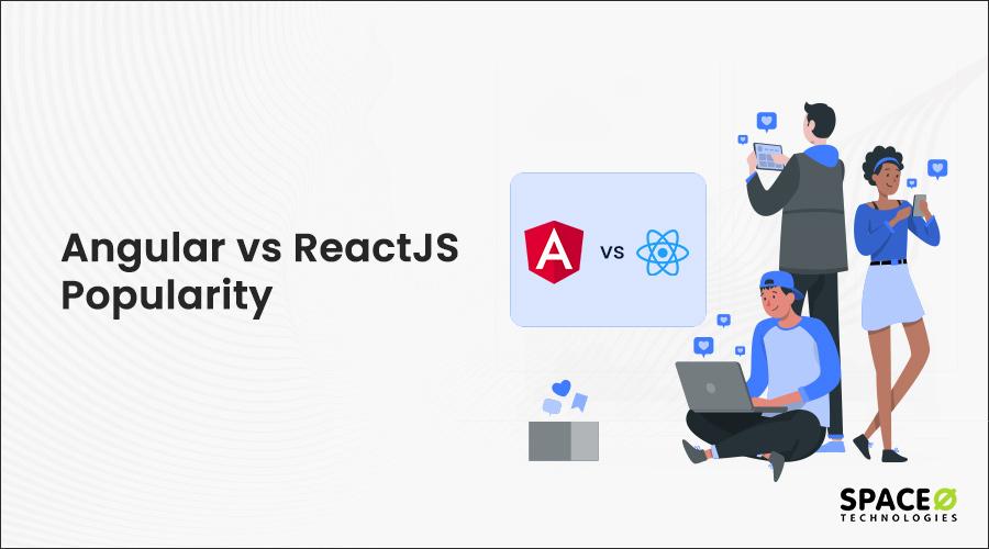 Angular-vs-ReactJS popularity