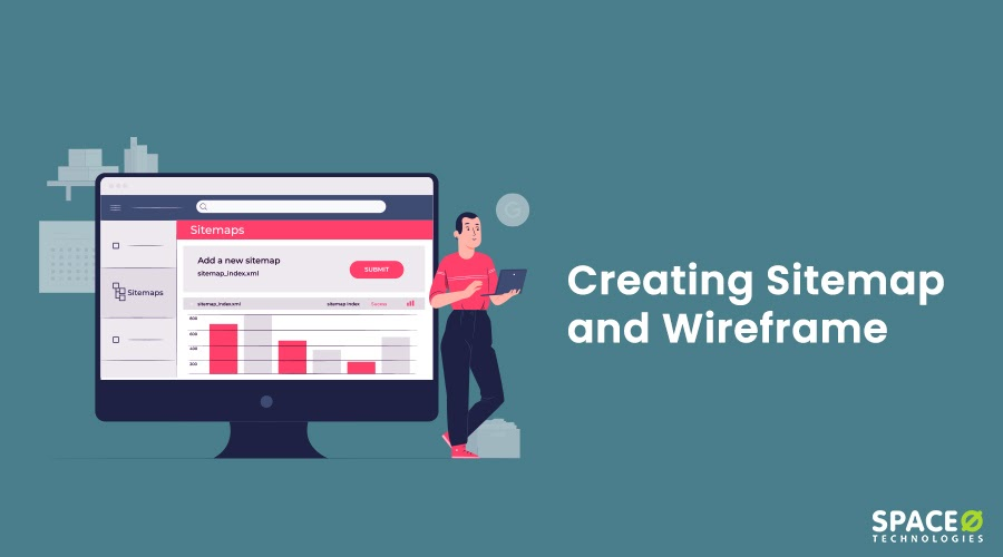 Creating Sitemap and Wireframe