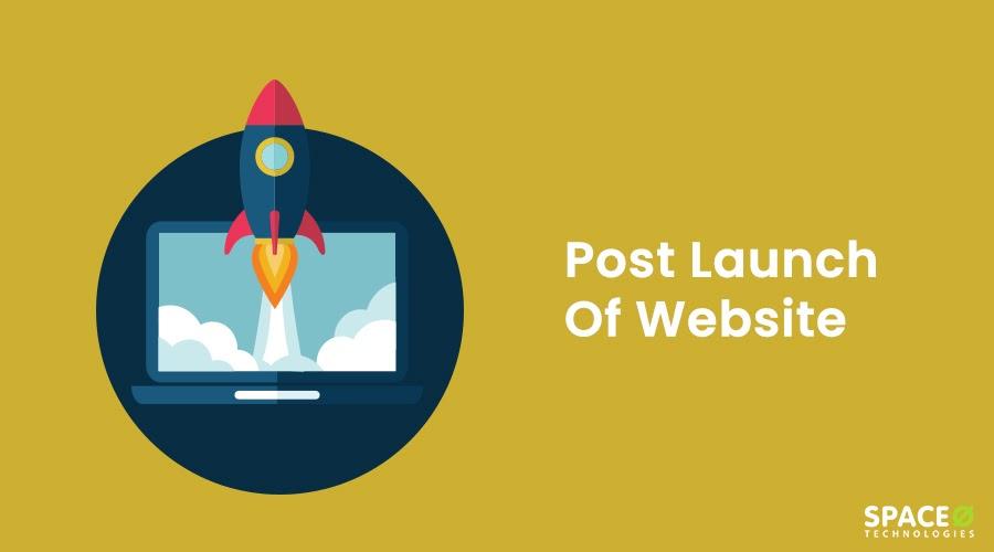 post launch of website