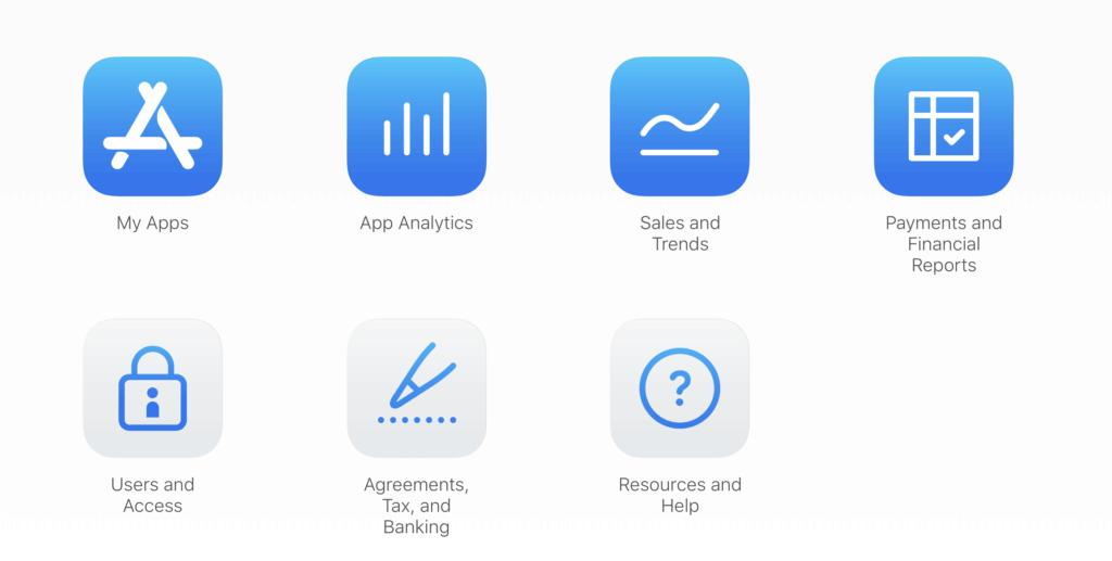 create app store listing
