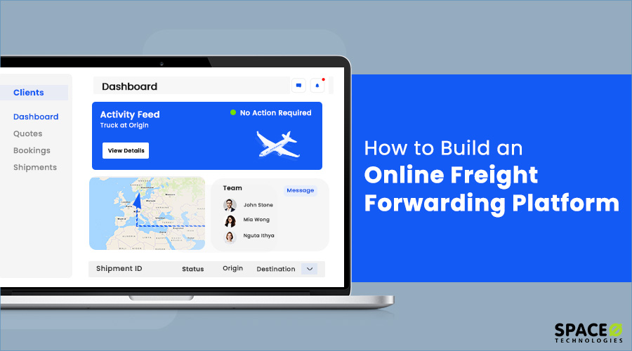 How to Build Online Freight Forwarding Platform?