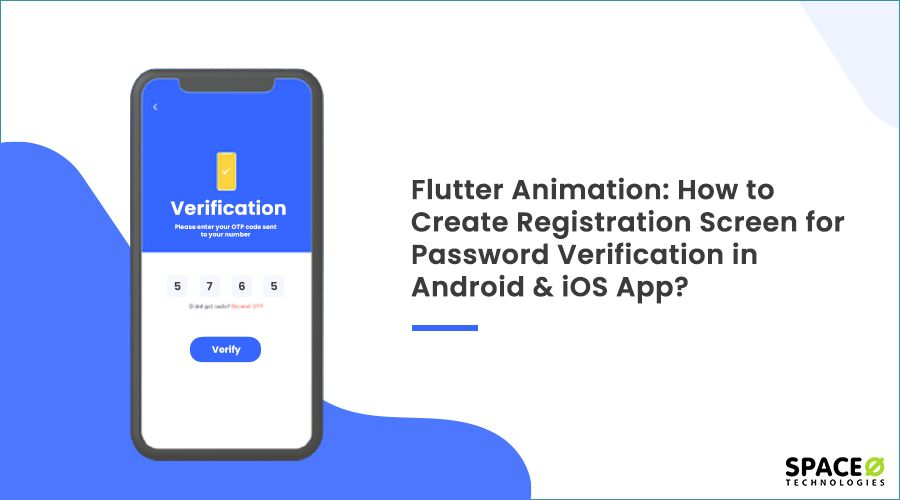 How to create registration screen using flutter in android