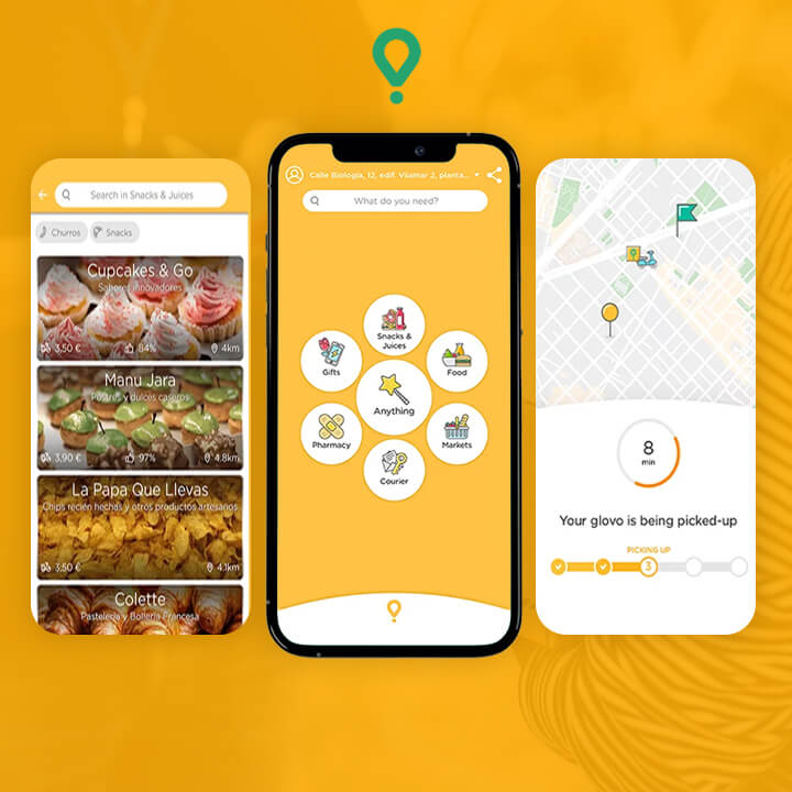 On-demand Delivery App