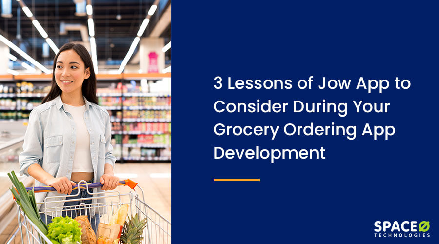 grocery ordering app like jow