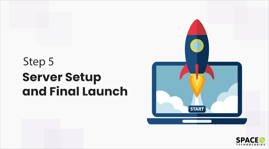 server setup and final launch