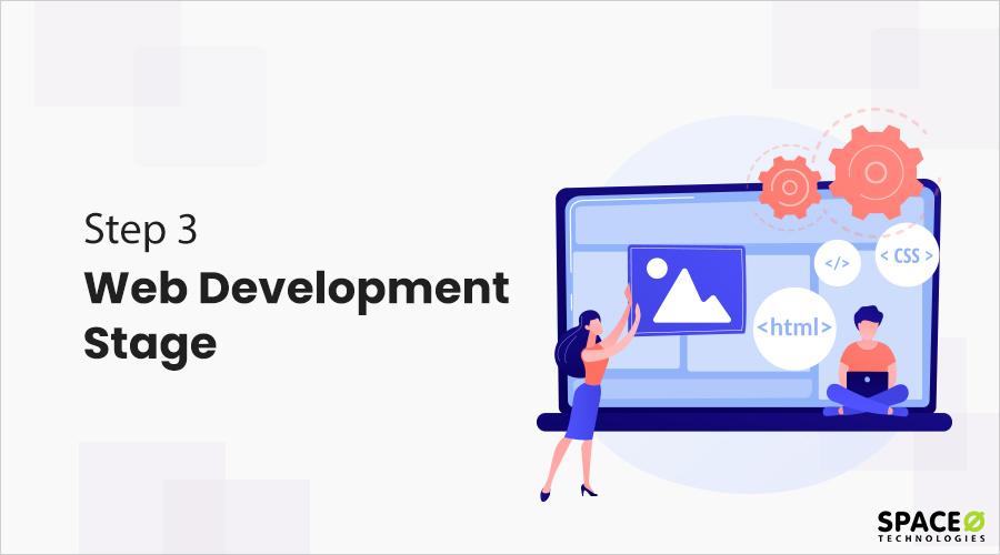 web development stage