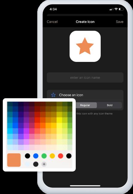 Add Custom Icons